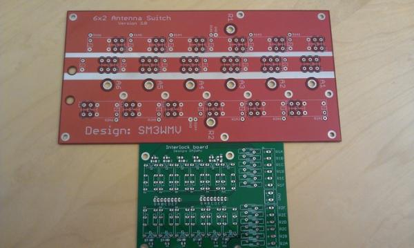 6x2 PCB