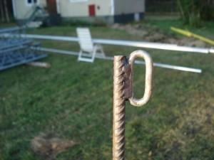 Guy line anchor