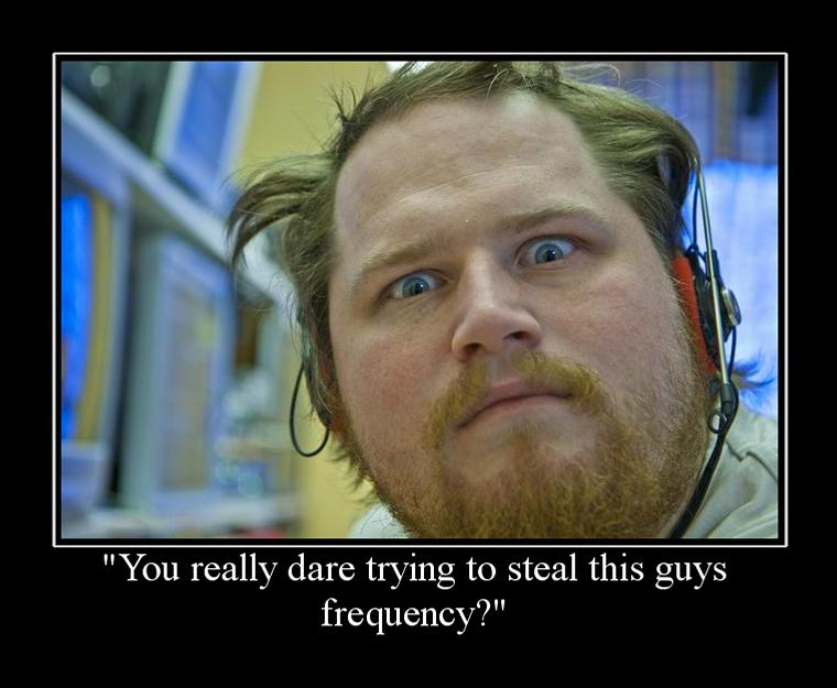 Frequency stealers be aware!
